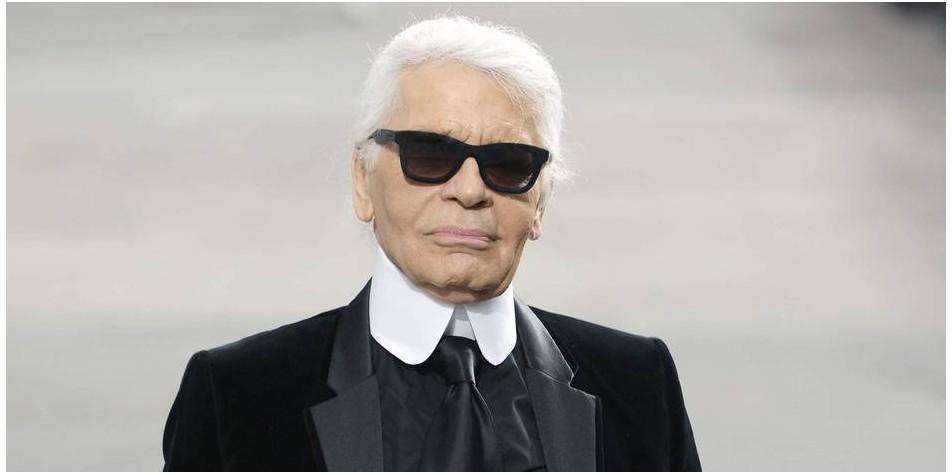 Karl Lagerfeld, icône de la mode
